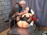 Tawny Whipped and Shocked to Climax