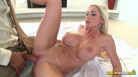 Blonde Sucked On His Cock and Got Her Nice Tits Fucked