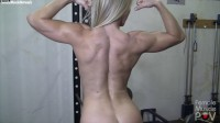 Claire - She's Nude. And You're Seeing Her From the Pov Of Her Muscle Worshiper