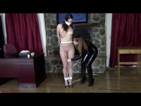Belle Davis and Serene Isley Belle Dreams Of Catsuits