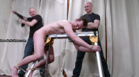 Jozef - Tied to a bench,flogged,caned,bastinado