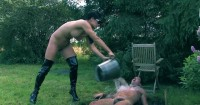 Mud Pit Pegging (lady, femdom, tit, domination, watch)