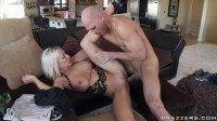 Hot Blonde Milf Has To Plan His Party