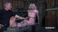 Bondage, spanking and torture for naked blonde part 2 HD 1080p