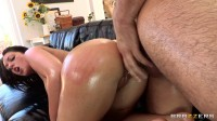 A Guy Fucks Her Ass Until She Cums Over And Over