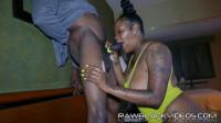 Black Man Fucks Black Woman — Part 2