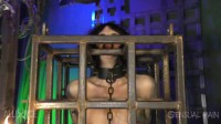 bizarre pain princess man (Caged Predicaments - Abigail Dupree and Master James).