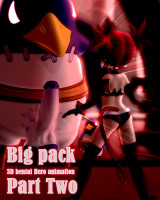 Download Big pack 3D hentai Hero animation, Part two