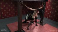 Tight Rope Bondage For Hot Ivy Addams