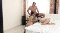 Russian Threesome Students part 2