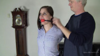 Amanda Reigh - Tight Heavy Rope Hogtie With The Boss
