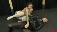 Amber Tickled in Straitjacket
