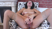 Ninas Lingerie Striptease Leads to a Powerful Climax