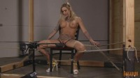 Kleio Valentien - Bound, Choked and Made To Cum - true, orgasm, legs, choke, download