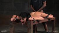 Flexible London River bound split in half giant cock drooling massive orgasms! (2016)
