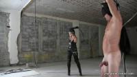 Catwoman Bullwhips Batman (watch, foot, femdom, fan)