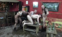 Bareback Tough Skinheads With Group Sex