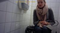 Hidden camera in the student toilet Part 6 (2018)