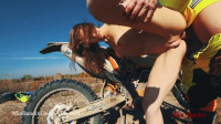 Mia Bandini Gets A Ride On A Dirt Bike Then A Hard
