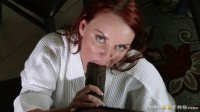 Hot Redhead Lady Fucks On The Kitchen Table