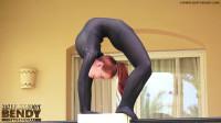 Ketrin - flexible girls in full body zentai