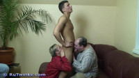 RuTwinks - Andre's oral orgy