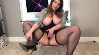 Bea York — Sassy Secretary Teases and Fucks Herself