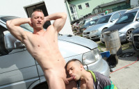 Man Fucked In The Ass In Public