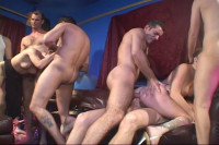 Audrey double-anal and stills find some place!