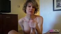 Delia Delions mature TS Delia gives an expert handjob (2015)