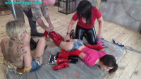 Part two - their girl girl bondage games