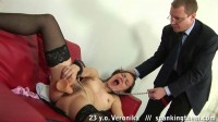 Office Spanking Humiliation (Veronika) ST