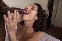 Amanda Hunt Blows A Large Black Cock