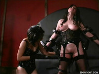 Pale Skin Spanked Bright Red - BT