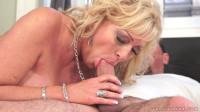 Blonde Grandma Gets A Cock load