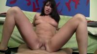 Pretty slut takes cock in both holes