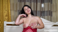 Tanya- Tanya's Masturbation Gets Interrupted By Contractions