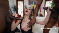 Sexy Jillian Janson In First Interracial DP Fuck