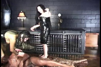 Double Domme Barefoot Trample