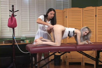 Violet October Gets The Clinical Approach - Miss Gregory
