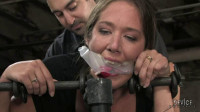 Hard bondage, torture, spanking and strappado for two hot models (1).