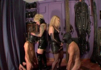 domination strap on two femdom (Strapons And Bislaves).