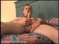 Straight Boy Ben Beating Off