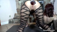 Roxy Raye-Wet Double Speculums & Double Anal Fisting