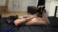 SexyTiedGirls — Eve — Nude Hogtied
