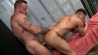 Sean Duran fucks Bryce Evans' asshole 1080p