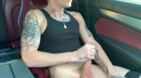 RFC - Dexx Hung Stud Jerks Off In Car