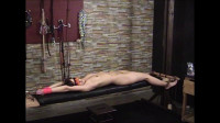 Elise Bench Tied and Flogged