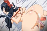 Ryou Seibai! Gakuen Bishoujo Seisai Hiroku - japan, anal, student, group sex