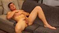 Greg Jameson shows off his raging hard cock
